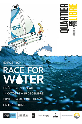 affiche race for water