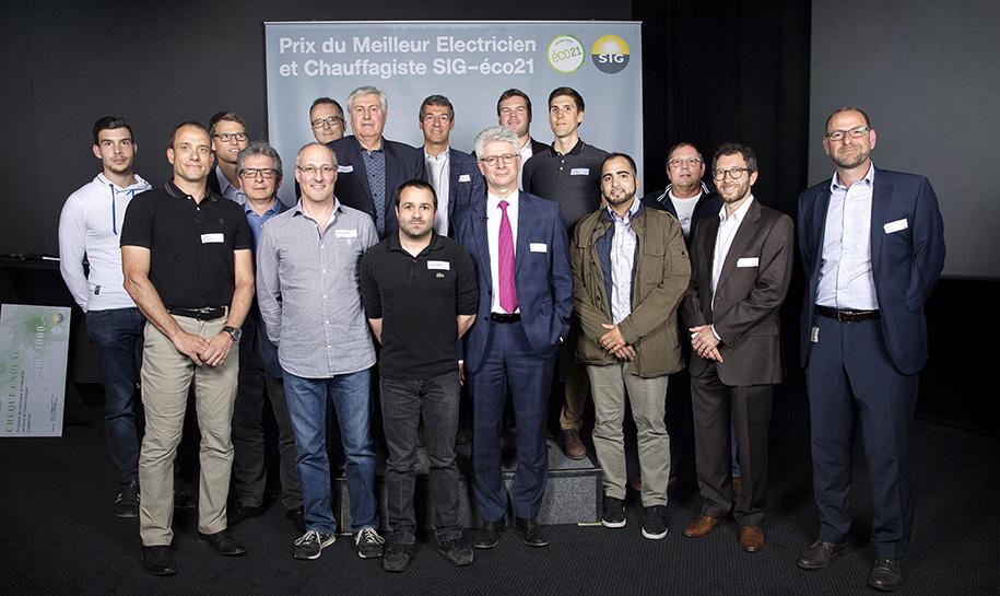 Prix du meilleur électricien et chauffagiste 2017