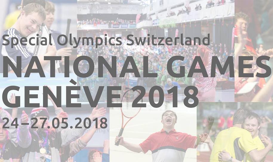 Affiche National Games Genève 2018