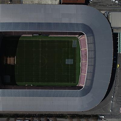 Stade de Genève vu du ciel