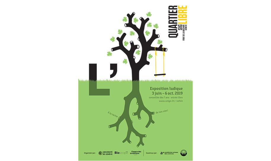 Affiche de l'expo L'arbre