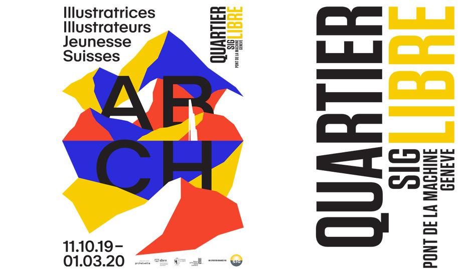 Visuel expo ABCH Illustratrices Illustrateurs Jeunesse Suisses