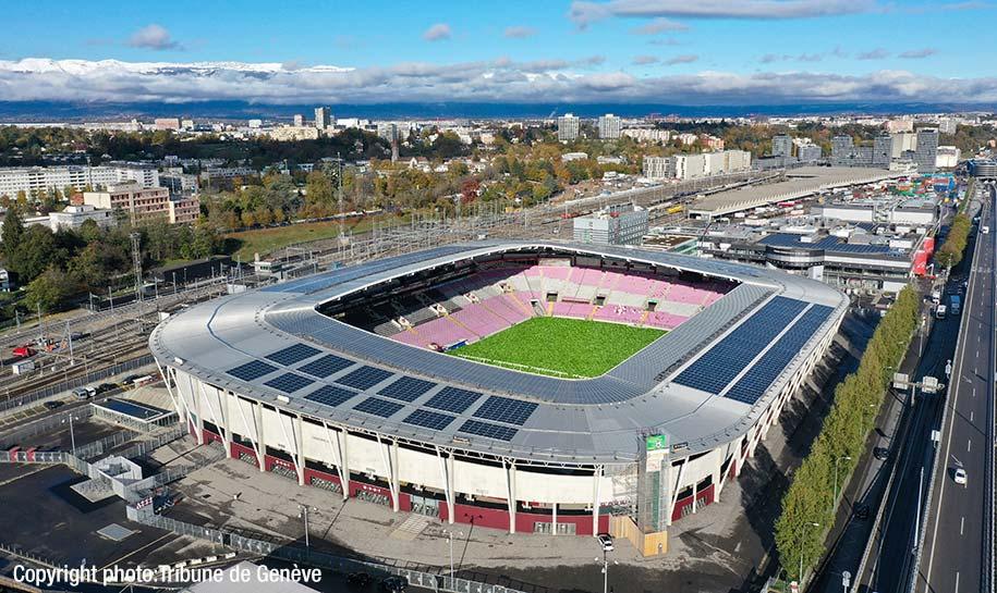 Toit Stade de Genève