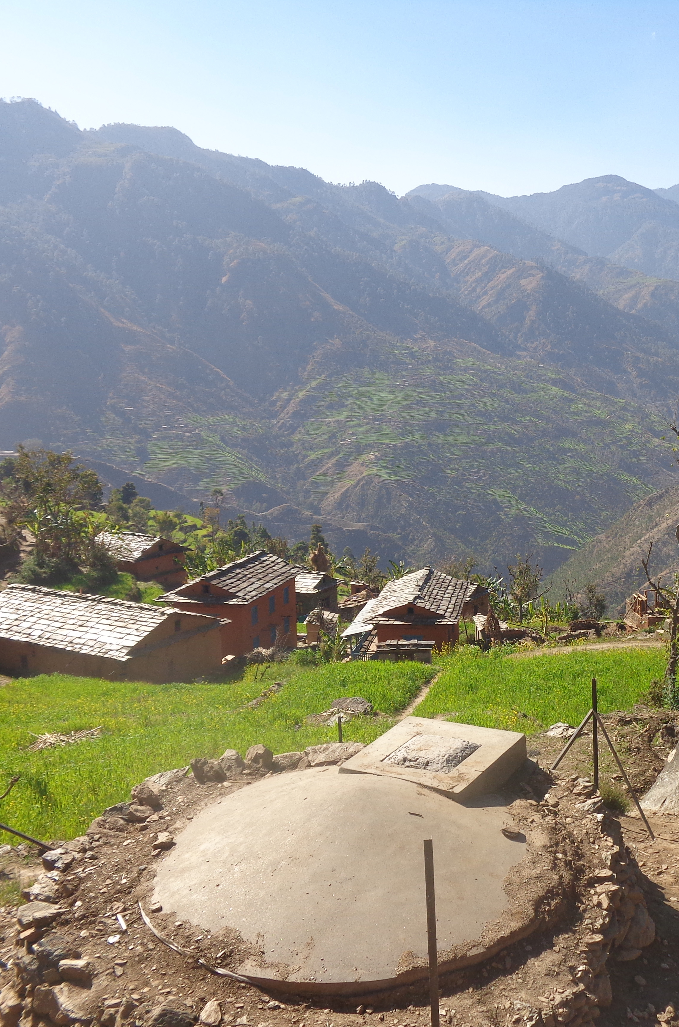 image du village du district de jajarkot au Népal