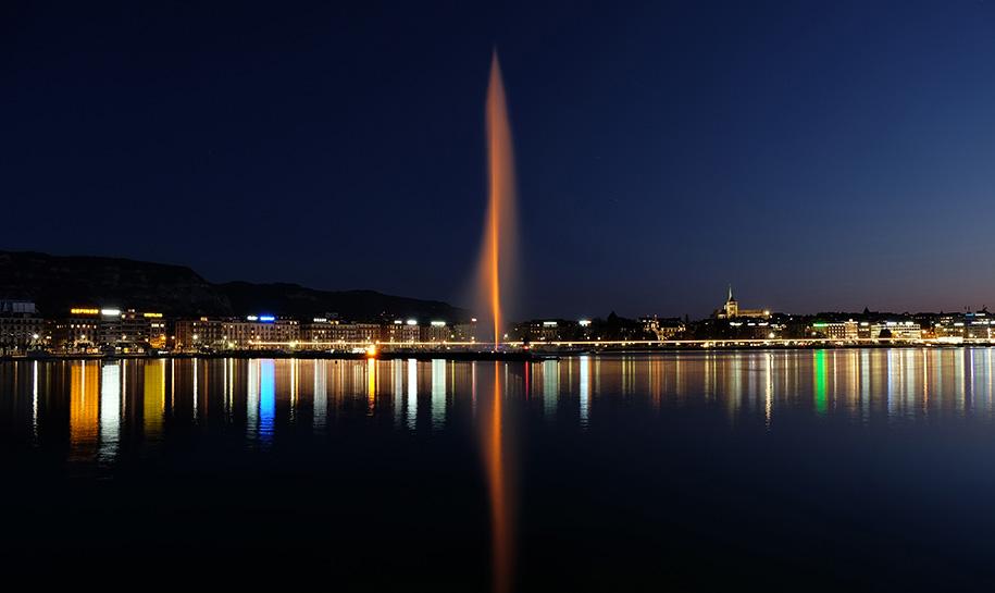 Illumination Jet d'eau