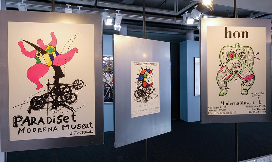 affiches de Niki de Saint Phalle