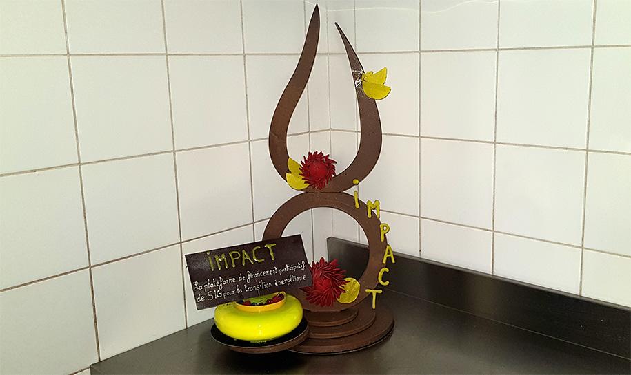 Gâteau Projet Impact